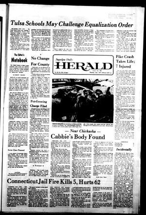 Primary view of Sapulpa Daily Herald (Sapulpa, Okla.), Vol. 63, No. 252, Ed. 1 Thursday, July 7, 1977