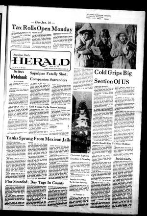 Primary view of Sapulpa Daily Herald (Sapulpa, Okla.), Vol. 64, No. 74, Ed. 1 Friday, December 9, 1977