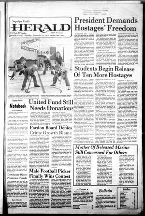 Primary view of Sapulpa Daily Herald (Sapulpa, Okla.), Vol. 66, No. 57, Ed. 1 Monday, November 19, 1979