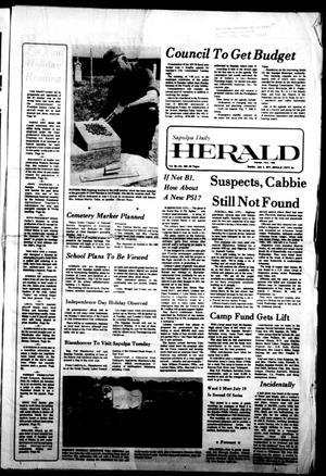 Primary view of Sapulpa Daily Herald (Sapulpa, Okla.), Vol. 63, No. 249, Ed. 1 Sunday, July 3, 1977