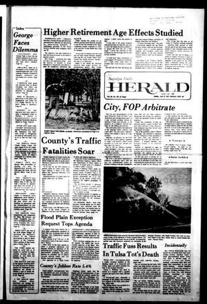 Primary view of Sapulpa Daily Herald (Sapulpa, Okla.), Vol. 63, No. 272, Ed. 1 Sunday, July 31, 1977