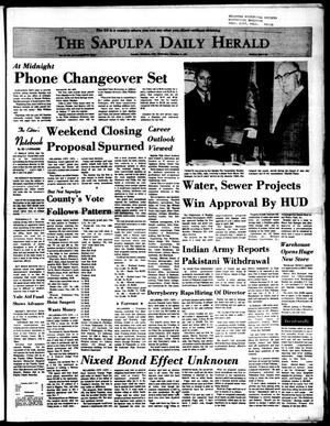 Primary view of The Sapulpa Daily Herald (Sapulpa, Okla.), Vol. 58, No. 85, Ed. 1 Wednesday, December 8, 1971