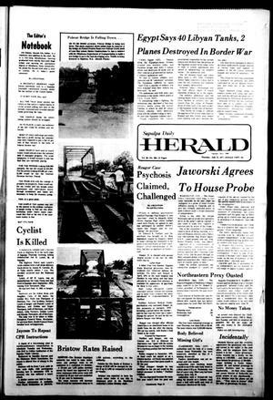 Primary view of Sapulpa Daily Herald (Sapulpa, Okla.), Vol. 63, No. 264, Ed. 1 Thursday, July 21, 1977