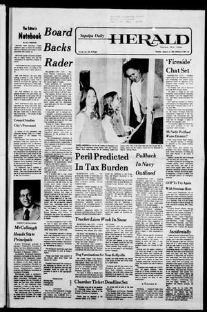 Primary view of Sapulpa Daily Herald (Sapulpa, Okla.), Vol. 64, No. 118, Ed. 1 Tuesday, January 31, 1978