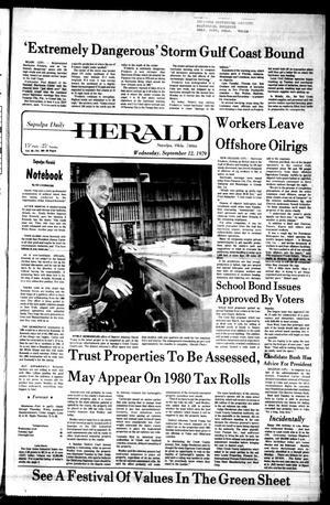 Primary view of Sapulpa Daily Herald (Sapulpa, Okla.), Vol. 65, No. 309, Ed. 1 Wednesday, September 12, 1979