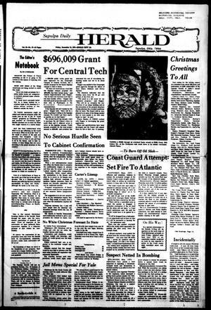 Primary view of Sapulpa Daily Herald (Sapulpa, Okla.), Vol. 63, No. 87, Ed. 1 Friday, December 24, 1976