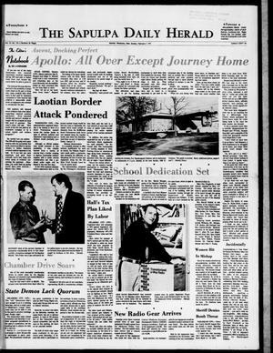Primary view of The Sapulpa Daily Herald (Sapulpa, Okla.), Vol. 57, No. 134, Ed. 1 Sunday, February 7, 1971