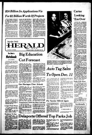 Primary view of Sapulpa Daily Herald (Sapulpa, Okla.), Vol. 63, No. 73, Ed. 1 Wednesday, December 8, 1976