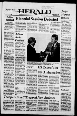 Primary view of Sapulpa Daily Herald (Sapulpa, Okla.), Vol. 64, No. 121, Ed. 1 Friday, February 3, 1978