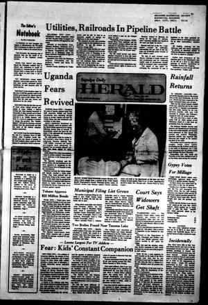 Primary view of Sapulpa Daily Herald (Sapulpa, Okla.), Vol. 63, No. 144, Ed. 1 Wednesday, March 2, 1977