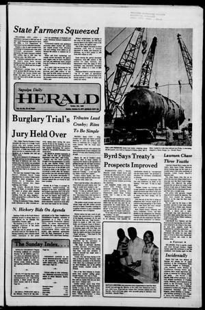 Primary view of Sapulpa Daily Herald (Sapulpa, Okla.), Vol. 64, No. 28, Ed. 1 Sunday, October 16, 1977