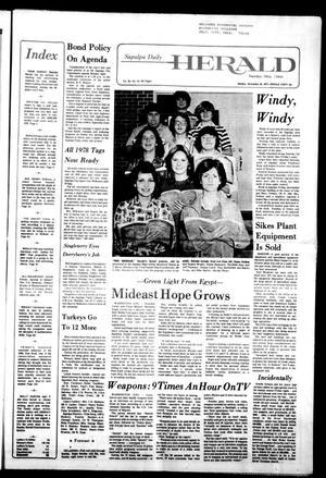 Primary view of Sapulpa Daily Herald (Sapulpa, Okla.), Vol. 64, No. 81, Ed. 1 Sunday, December 18, 1977