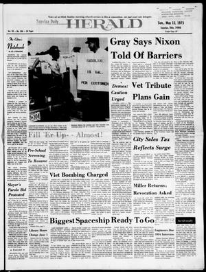 Primary view of Sapulpa Daily Herald (Sapulpa, Okla.), Vol. 59, No. 206, Ed. 1 Sunday, May 13, 1973
