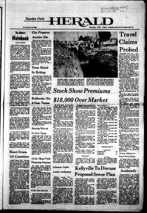 Primary view of Sapulpa Daily Herald (Sapulpa, Okla.), Vol. 63, No. 156, Ed. 1 Wednesday, March 16, 1977