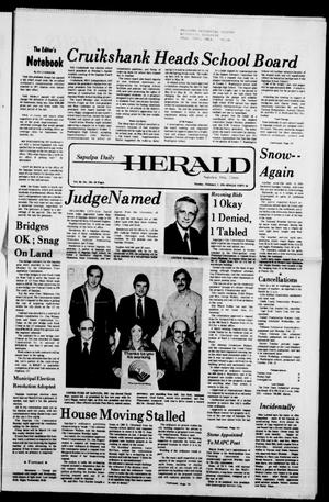 Primary view of Sapulpa Daily Herald (Sapulpa, Okla.), Vol. 64, No. 124, Ed. 1 Tuesday, February 7, 1978