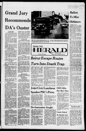 Primary view of Sapulpa Daily Herald (Sapulpa, Okla.), Vol. 62, No. 239, Ed. 1 Sunday, June 20, 1976