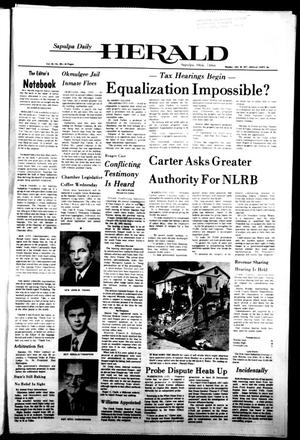 Primary view of Sapulpa Daily Herald (Sapulpa, Okla.), Vol. 63, No. 261, Ed. 1 Monday, July 18, 1977