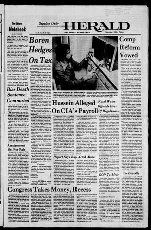Primary view of Sapulpa Daily Herald (Sapulpa, Okla.), Vol. 63, No. 134, Ed. 1 Friday, February 18, 1977