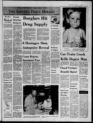 Primary view of The Sapulpa Daily Herald (Sapulpa, Okla.), Vol. 58, No. 12, Ed. 1 Tuesday, September 14, 1971