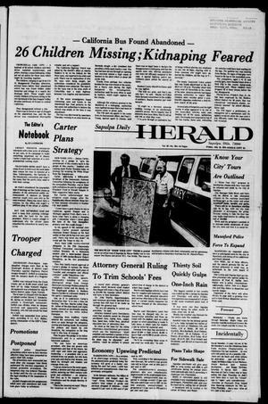 Primary view of Sapulpa Daily Herald (Sapulpa, Okla.), Vol. 62, No. 261, Ed. 1 Friday, July 16, 1976