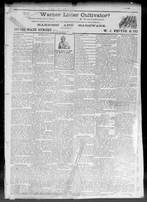 Primary view of object titled 'Weekly Times-Journal. (Oklahoma City, Okla. Terr.), Ed. 1 Friday, May 14, 1897'.