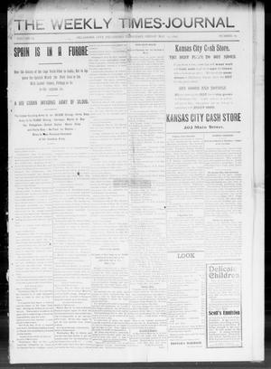 Primary view of object titled 'The Weekly Times-Journal (Oklahoma City, Okla. Terr.), Vol. 9, No. 80, Ed. 1 Friday, May 13, 1898'.