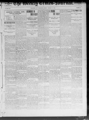 Primary view of object titled 'The Weekly Times-Journal. (Oklahoma City, Okla.), Vol. 13, No. 39, Ed. 1 Friday, January 17, 1902'.