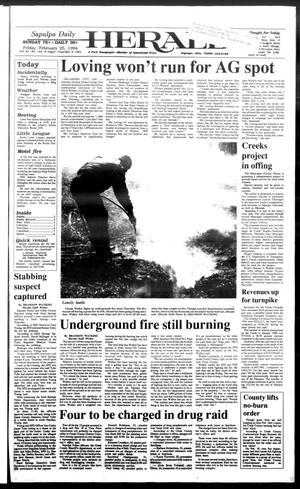 Primary view of Sapulpa Daily Herald (Sapulpa, Okla.), Vol. 80, No. 142, Ed. 1 Friday, February 25, 1994