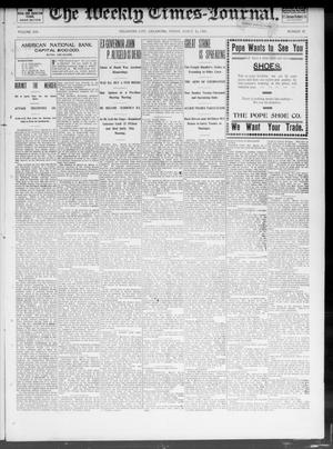 Primary view of object titled 'The Weekly Times-Journal. (Oklahoma City, Okla.), Vol. 13, No. 47, Ed. 1 Friday, March 14, 1902'.