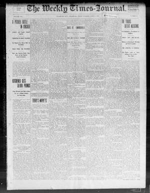 Primary view of object titled 'The Weekly Times-Journal. (Oklahoma City, Okla.), Vol. 14, No. 8, Ed. 1 Friday, June 6, 1902'.