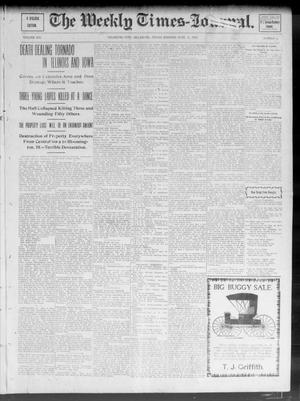 Primary view of object titled 'The Weekly Times-Journal. (Oklahoma City, Okla.), Vol. 14, No. 9, Ed. 1 Friday, June 13, 1902'.
