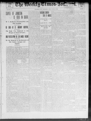 Primary view of object titled 'The Weekly Times-Journal. (Oklahoma City, Okla.), Vol. 14, No. 10, Ed. 1 Friday, June 20, 1902'.