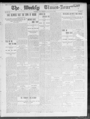 Primary view of object titled 'The Weekly Times-Journal. (Oklahoma City, Okla.), Vol. 15, No. 5, Ed. 1 Friday, May 22, 1903'.