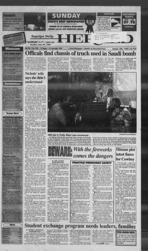 Primary view of Sapulpa Daily Herald (Sapulpa, Okla.), Vol. 81, No. 250, Ed. 1 Sunday, June 30, 1996