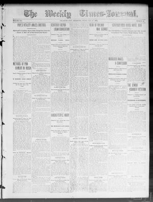 Primary view of object titled 'The Weekly Times-Journal. (Oklahoma City, Okla.), Vol. 15, No. 13, Ed. 1 Friday, July 17, 1903'.