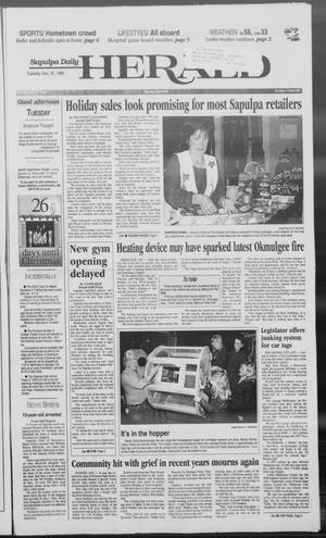 Primary view of Sapulpa Daily Herald (Sapulpa, Okla.), Vol. 84, No. 66, Ed. 1 Tuesday, November 30, 1999