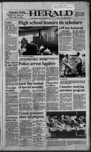 Primary view of Sapulpa Daily Herald (Sapulpa, Okla.), Vol. 79, No. 190, Ed. 1 Friday, April 23, 1993