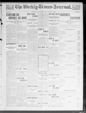 Primary view of object titled 'The Weekly Times-Journal. (Oklahoma City, Okla.), Vol. 15, No. 32, Ed. 1 Friday, November 27, 1903'.