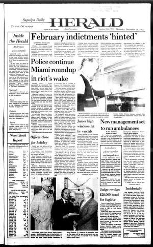 Primary view of Sapulpa Daily Herald (Sapulpa, Okla.), Vol. 69, No. 93, Ed. 1 Thursday, December 30, 1982