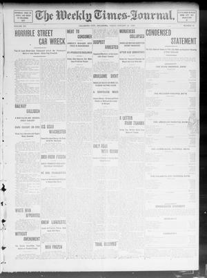 Primary view of object titled 'The Weekly Times-Journal. (Oklahoma City, Okla.), Vol. 15, No. 41, Ed. 1 Friday, January 29, 1904'.