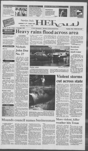 Primary view of Sapulpa Daily Herald (Sapulpa, Okla.), Vol. 81, No. 202, Ed. 1 Monday, May 8, 1995