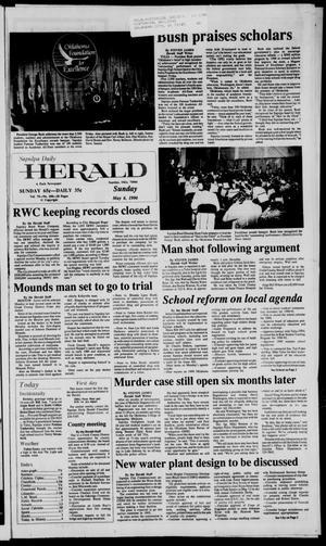 Primary view of Sapulpa Daily Herald (Sapulpa, Okla.), Vol. 76, No. 200, Ed. 1 Sunday, May 6, 1990
