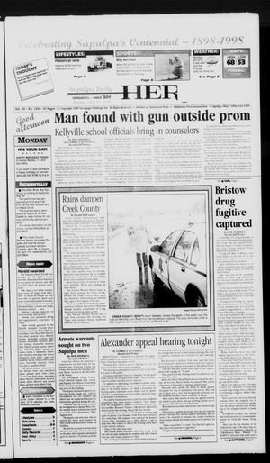 Primary view of Sapulpa Daily Herald (Sapulpa, Okla.), Vol. 89, No. 193, Ed. 1 Monday, April 27, 1998