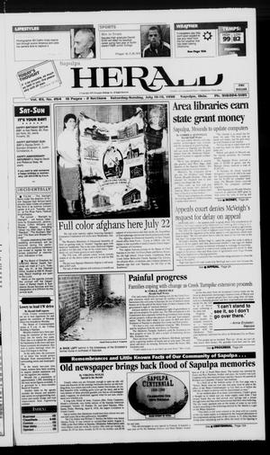 Primary view of object titled 'Sapulpa Daily Herald (Sapulpa, Okla.), Vol. 83, No. 264, Ed. 1 Sunday, July 19, 1998'.