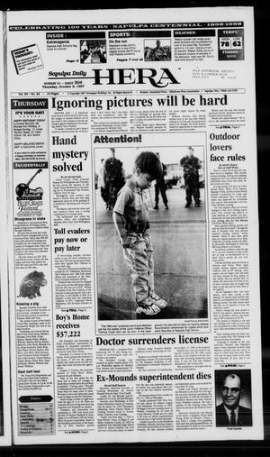 Primary view of Sapulpa Daily Herald (Sapulpa, Okla.), Vol. 83, No. 22, Ed. 1 Thursday, October 9, 1997