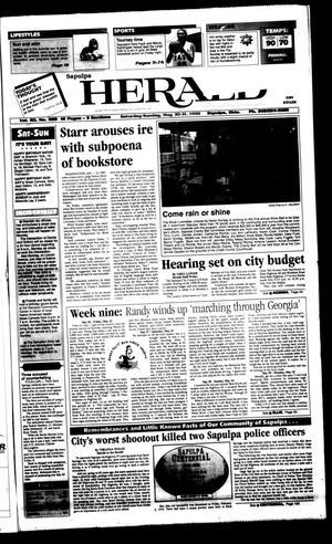 Primary view of Sapulpa Daily Herald (Sapulpa, Okla.), Vol. 83, No. 222, Ed. 1 Sunday, May 31, 1998
