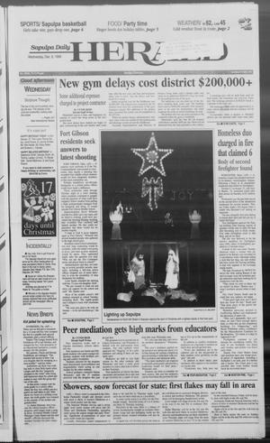 Primary view of Sapulpa Daily Herald (Sapulpa, Okla.), Vol. 84, No. 73, Ed. 1 Wednesday, December 8, 1999