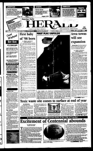 Primary view of Sapulpa Daily Herald (Sapulpa, Okla.), Vol. 83, No. 95, Ed. 1 Sunday, January 4, 1998