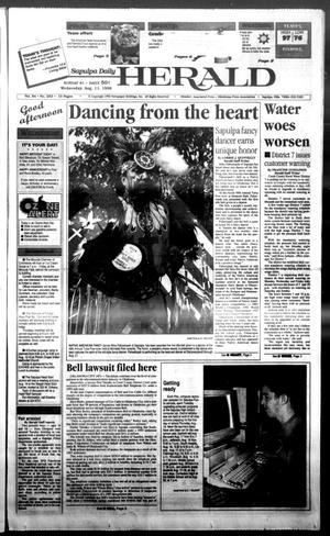 Primary view of Sapulpa Daily Herald (Sapulpa, Okla.), Vol. 84, No. 283, Ed. 1 Wednesday, August 11, 1999
