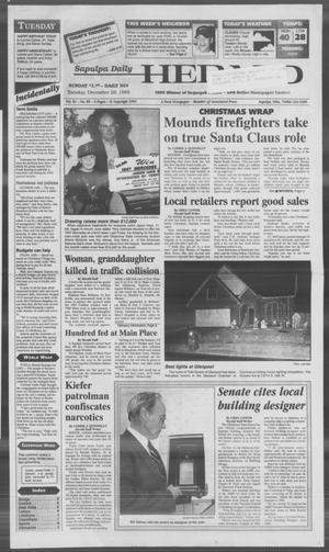 Primary view of Sapulpa Daily Herald (Sapulpa, Okla.), Vol. 82, No. 89, Ed. 1 Tuesday, December 26, 1995